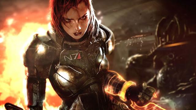 Mass Effect Wallpaper Engine