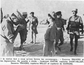 Susan Travers en la legión francesa