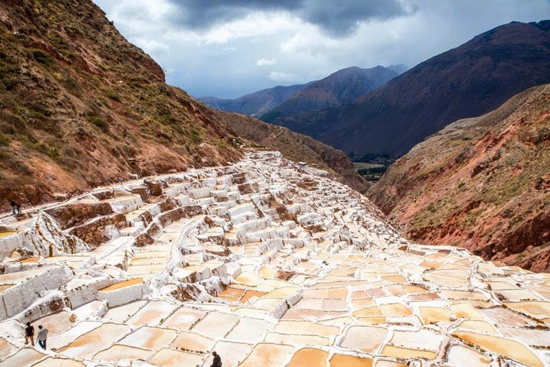 Peru city Marash, The Sacred Valley of the Incan Ruins, located near Cuzco Region of Peru.