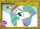 MLP Princess Celestia Series 2 Trading Card