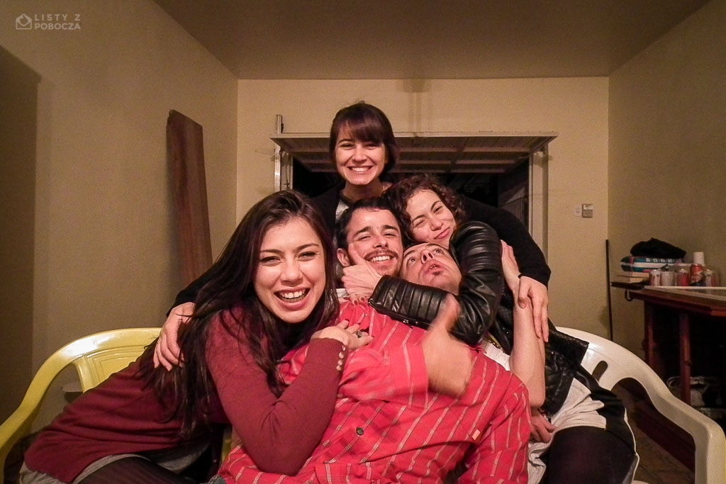 Paluch znowu w Pelotas w Brazylii z Marthą, Gabi, Átilą i Bruną