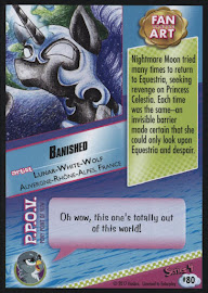 MLP Banished Series 4 Trading Card