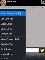 Auto Text and Fancy Smiley