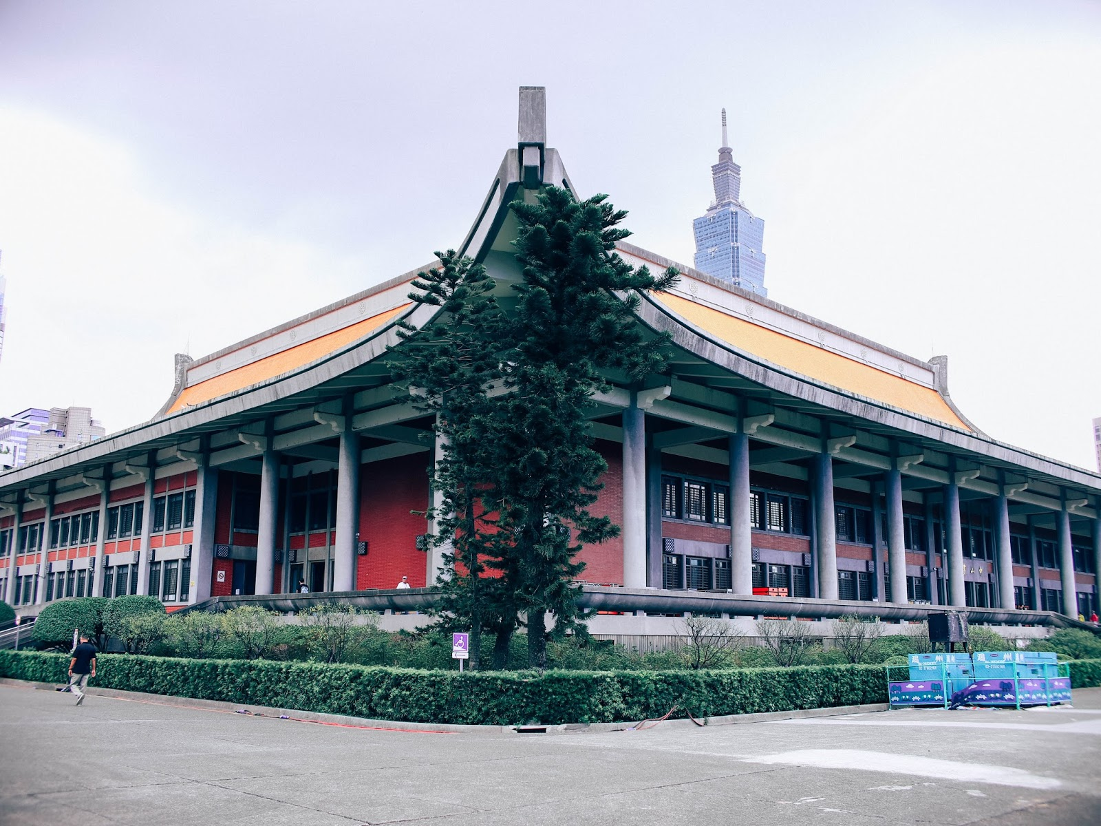 chiang kai shek memorial hall, taipei, taiwan, review