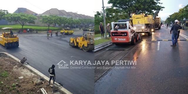 Jasa Aspal Hotmix, Jasa pengaspalan, konstruksi jalan aspal, jasa perbaikan jalan,