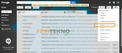 cara mengganti nama tampilan di gmail