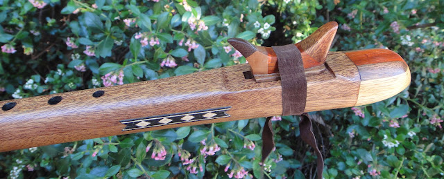 flauta nativa americana khaya y roble. La
