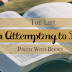 [The List #4] Books I'm Attempting to Read Next