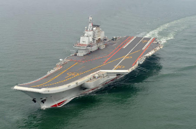 PLA Navy Liaoning aircraft carrier