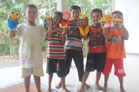 Keceriaan Anak-anak Desa Binoh