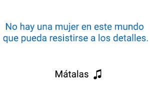Alejandro Fernández Mátalas significado de la canción