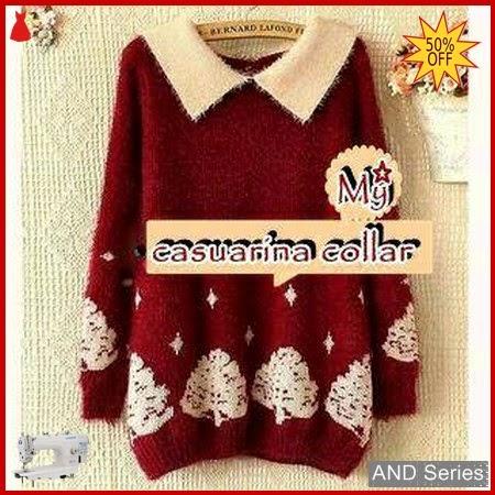 AND409 Sweater Wanita Casuarina Collar Murah BMGShop