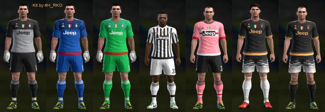 brand new b0d79 f6236 SANTARA PES: PES 2013 Juventus Full GDB 2016 by Hamza RKO