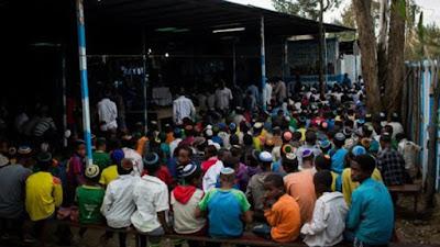 3000 judíos en el Seder de Pesaj de Etiopía ansían llegar a Tierra Santa