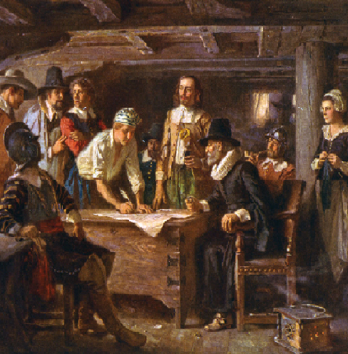 An analysis of the theory of the mayflower compact