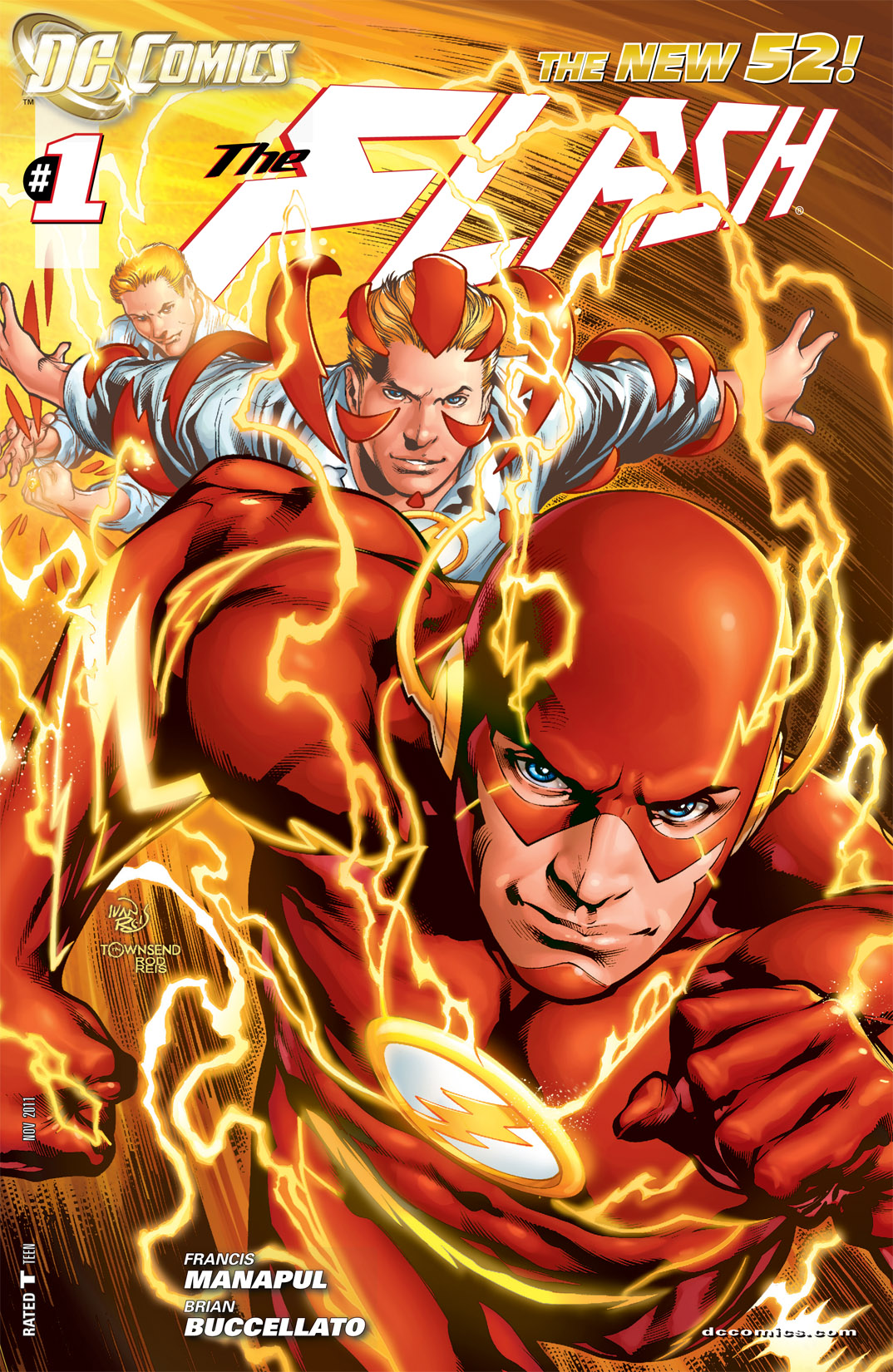 Read online The Flash (2011) comic -  Issue #1 - 2
