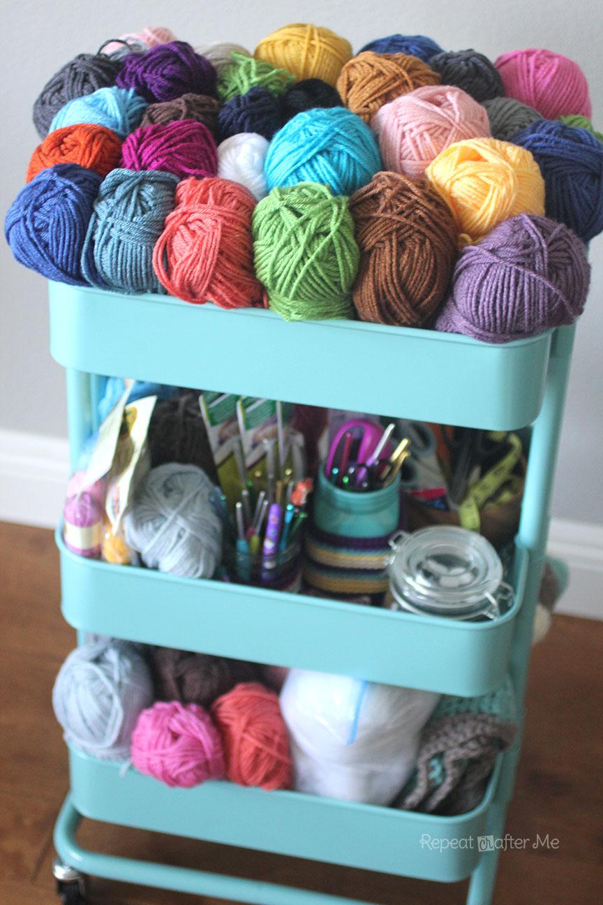 Ikea Raskog Crochet Cart