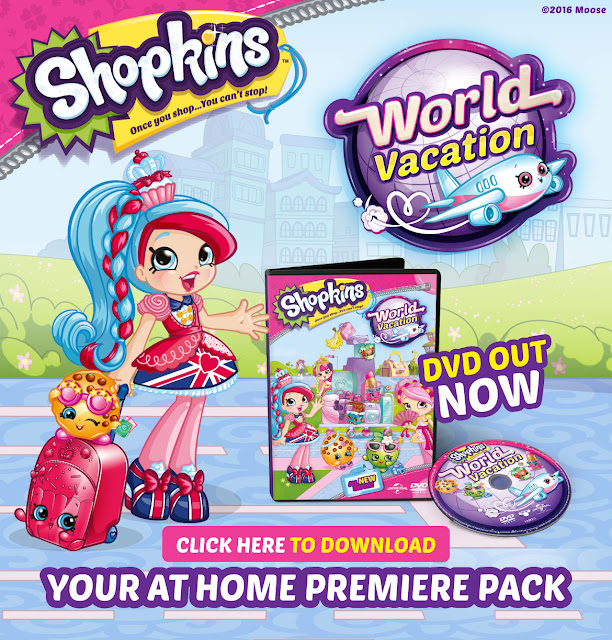 A Shopkin World Vacation Movie Preview Party