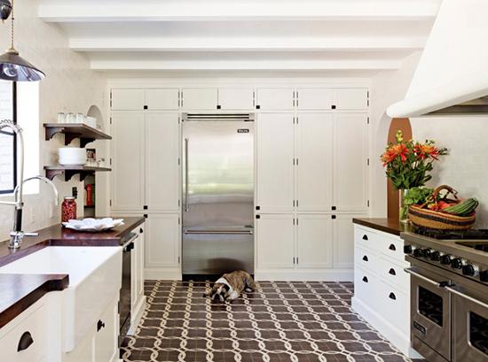 inspirasi unik desain keramik lantai rumah minimalis