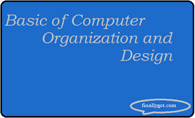 basic of computer organization and design logo