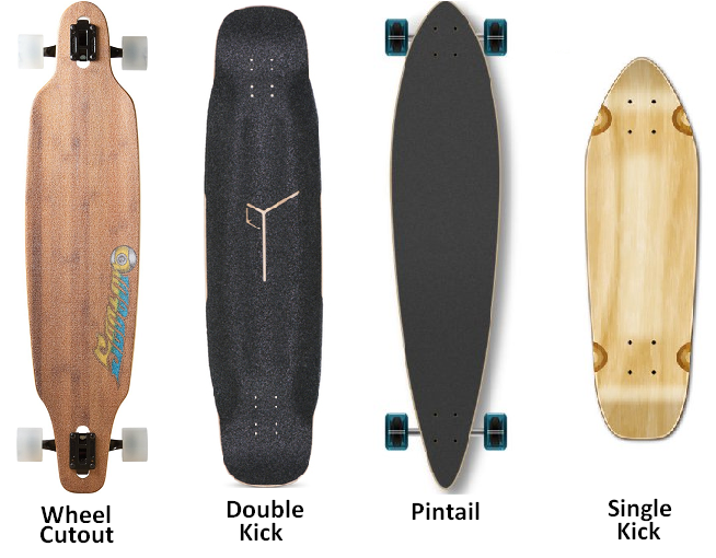 Sector 9 Loaded Pintail Single kick Double kick decks