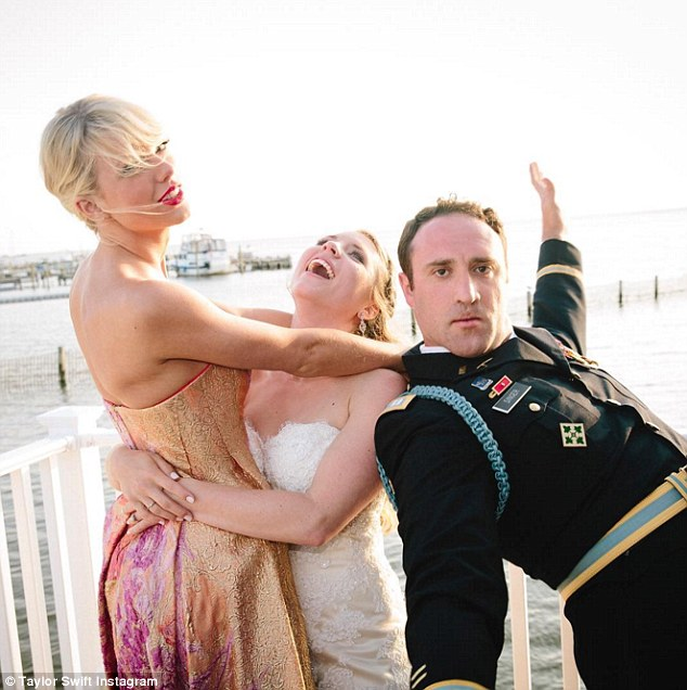 Taylor Swift surprises fans by turning up to their wedding