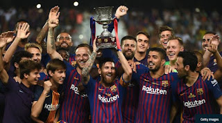 Sevilla v Barcelona Highlights - Piala Super Spanyol 2018