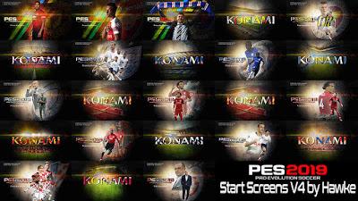 PES 2019 Start Screens v4 by Hawke