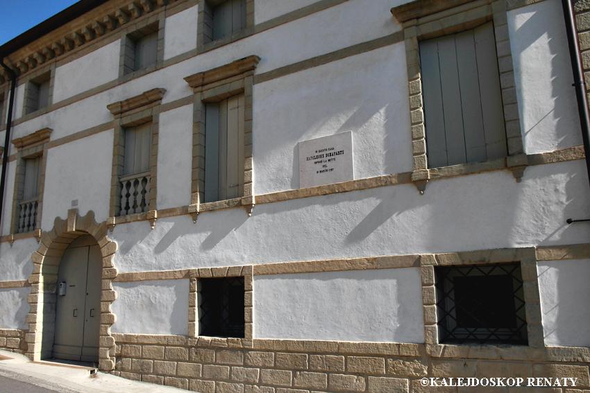 Budynek w Asolo, w którym spędził noc Napoleon Bonaparte