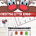 Christmas Alphabet Bingo Game