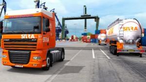 Sitra Transport DAF skin + trailer