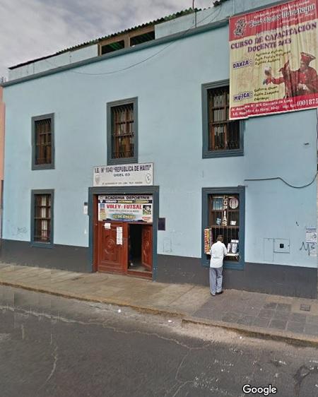 Escuela 1040 REPUBLICA DE HAITI - Lima Cercado