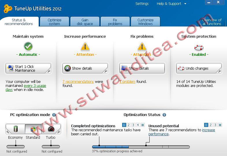 Tuneup utilities 2008 v.7.0.8007 Serial Key
