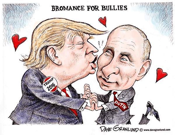Resultado de imagen para trump versus putin viñetas