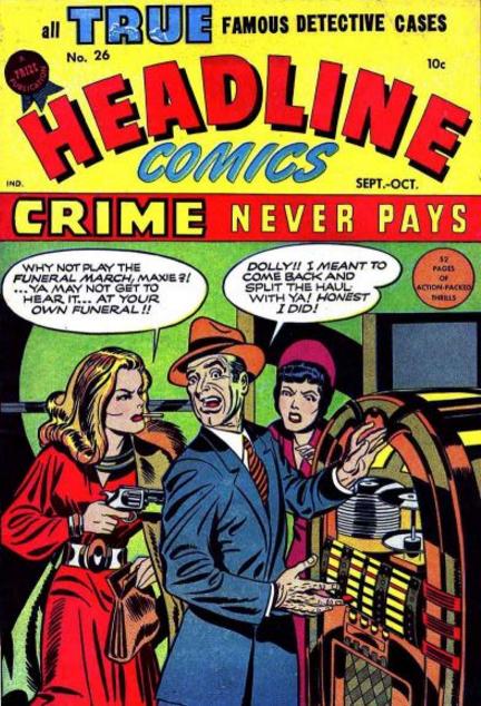 Jack Kirby Headline Comics