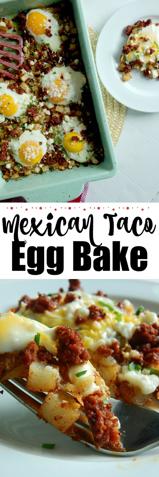 Mexican Taco Egg Bake