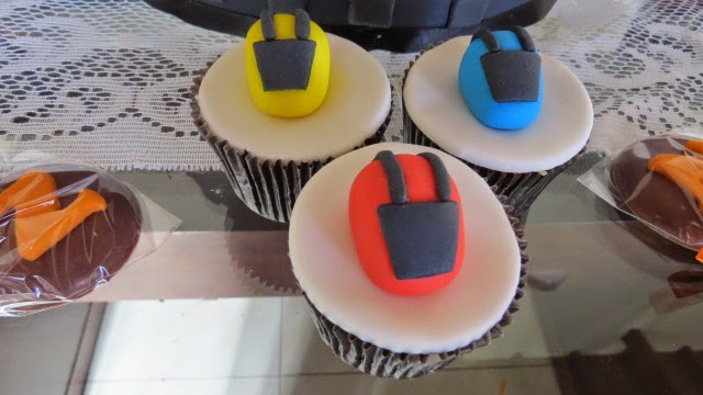 cupcake de moto cross
