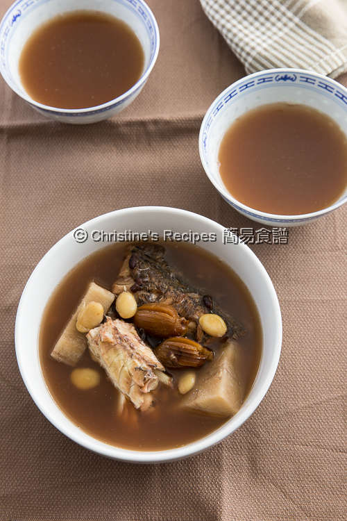 粉葛赤小豆牛鰍魚湯 Kudzu Root, Adzuki Bean and Flathead Fish Soup01