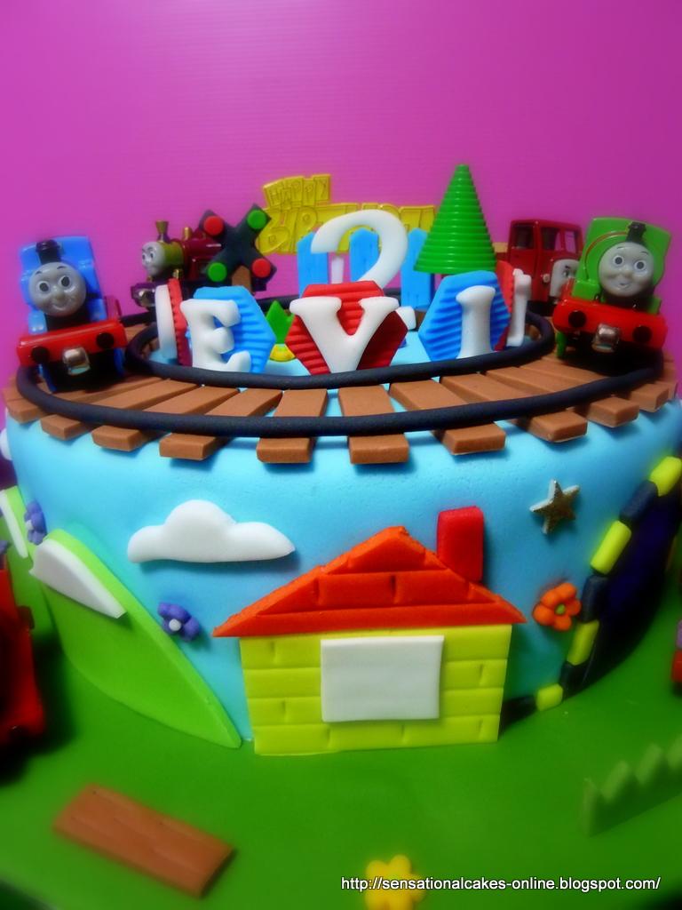 Cakes2share Singapore Thomas Train Percy 3d Train