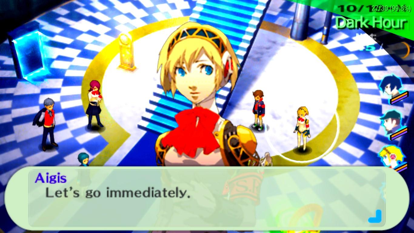 Persona 3 undub