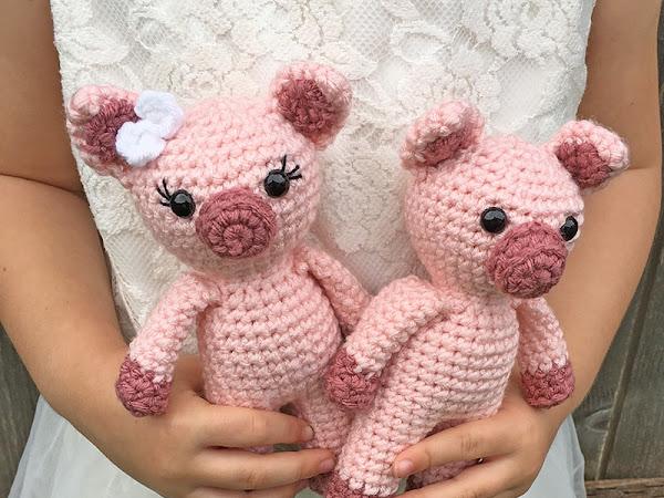 Mini Amigurumi Pig - A Free Crochet Pattern