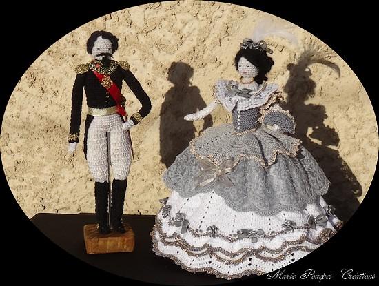 Eugénie et Napoléon III