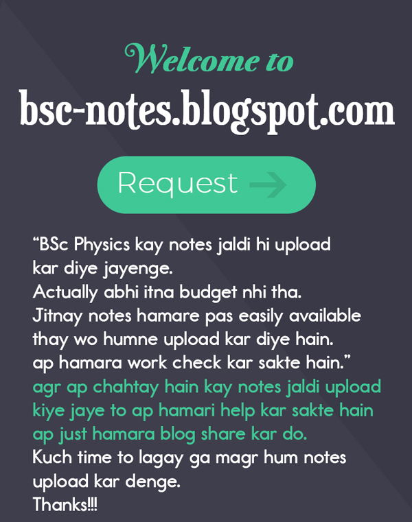 Bsc Notes Complete Online PDF Download: BSc Physics Notes of Modern