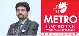 मैट्रो अस्पताल में लवकाग्रस्त मरीजों के लिए कारगार साबित हो रही है थ्रोम्बोलाइसिस इजेक्शन तकनीक- डा. रोहित गुप्ता