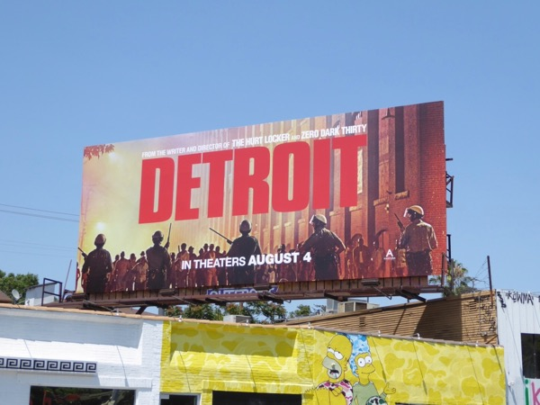 Detroit film billboard
