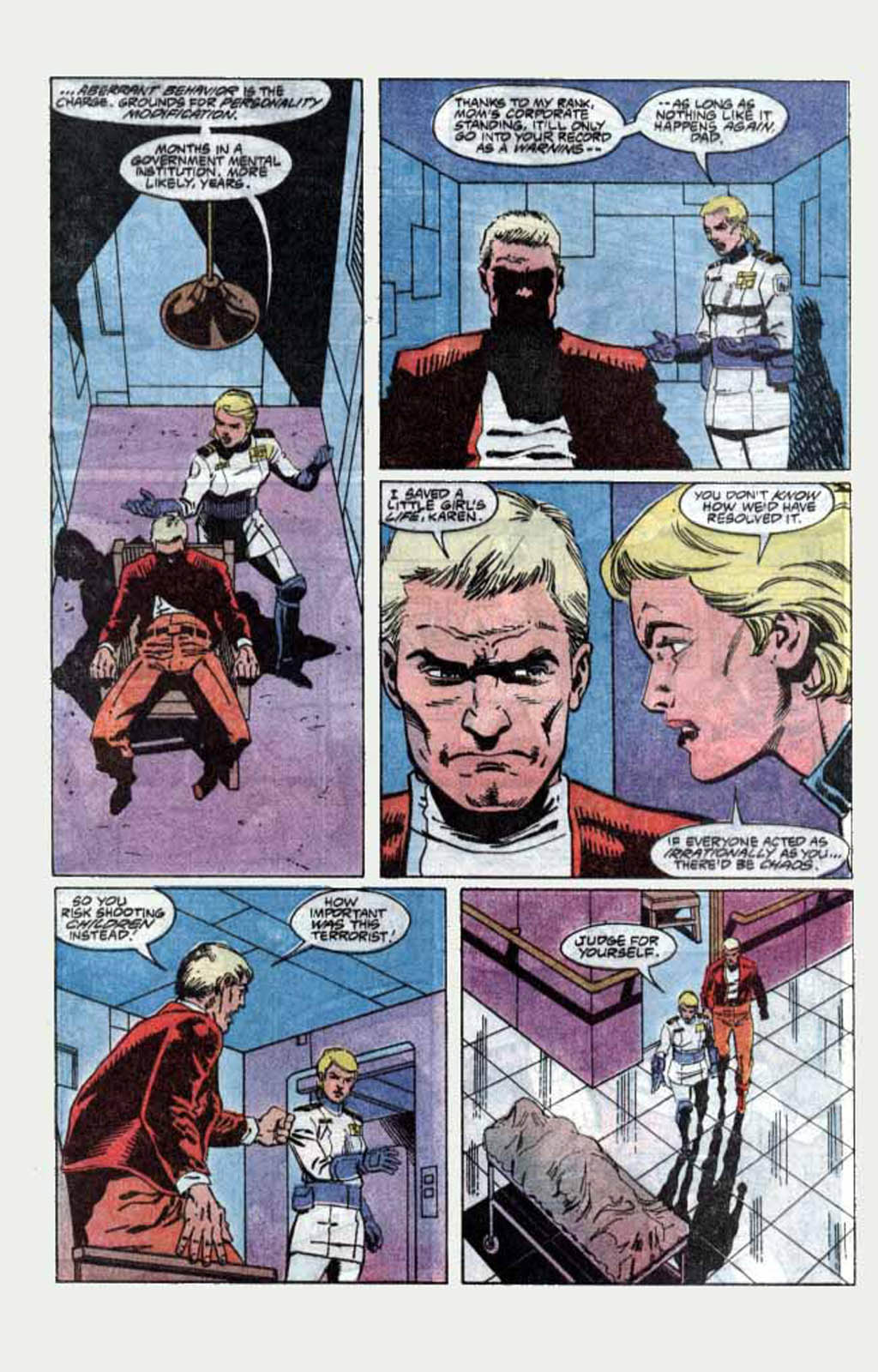 Read online Armageddon 2001 comic -  Issue #1 - 31