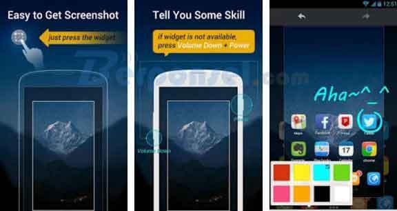 aplikasi screenshot android tanpa tombol