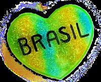 Coração Brasil png