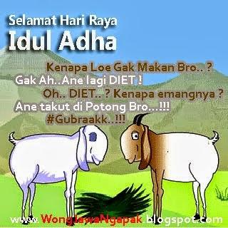 Gambar DP BBM Idul Adha Lucu Keren