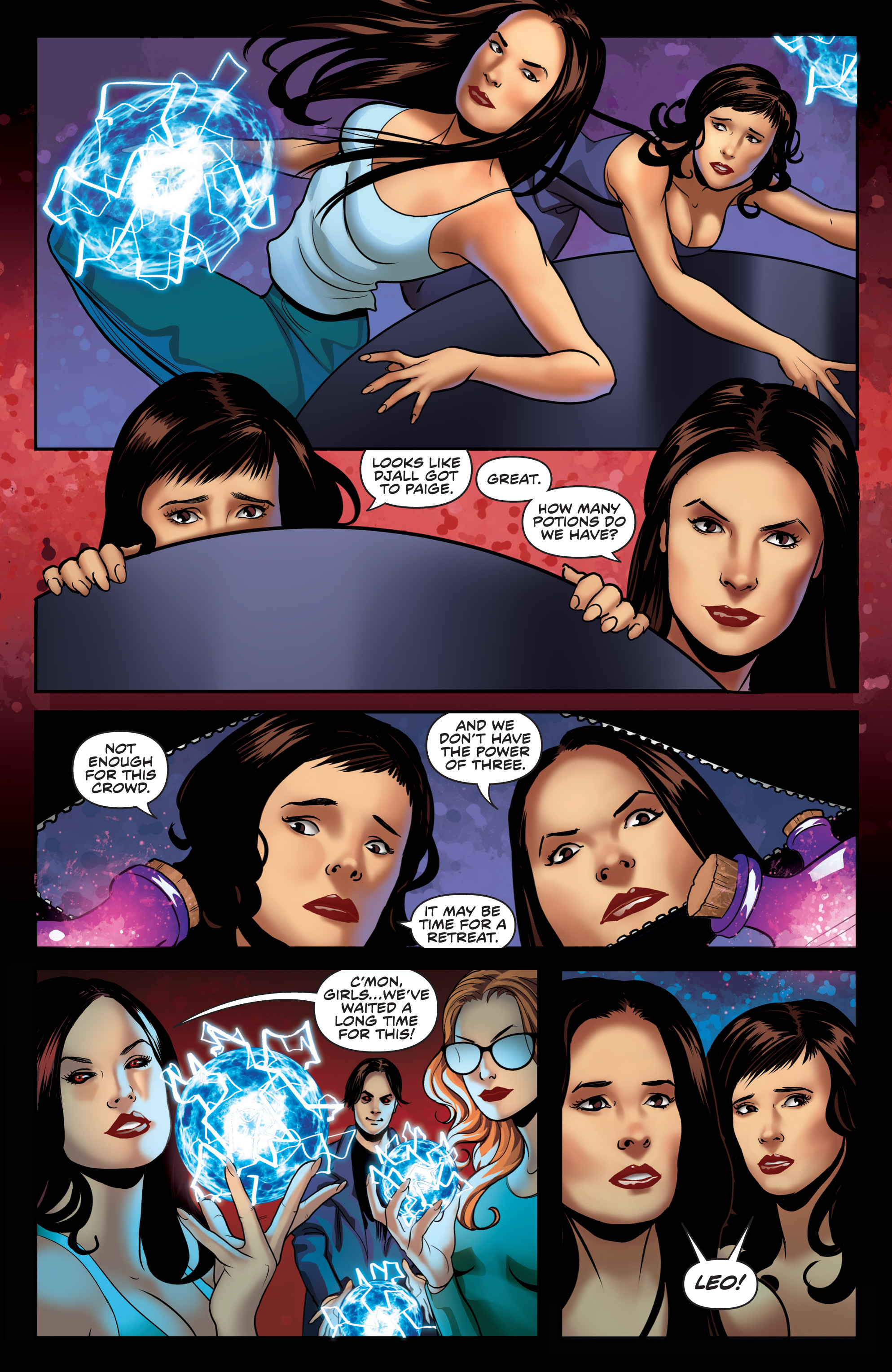 Read online Charmed (2017) comic -  Issue #4 - 22